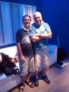 Eduardo Fazio y Carlos Cosattini