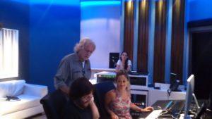 Patricio Villarejo, Nito Mestre y Fabiola Russo