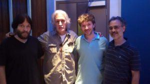 Patricio Villarejo, Nito Mestre, Mariano Delli Quadri y Carlos Cosattini