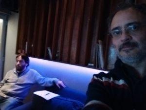 Patricio Villarejo y Carlos Cosattini